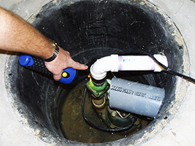Sump Pump Plumbing Repair